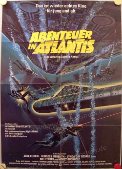 Abenteuer in Atlantis (Return of Captain Nemo, The)