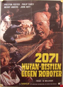 2071 - Mutan-Bestien gegen Roboter (Time Travelers, The)