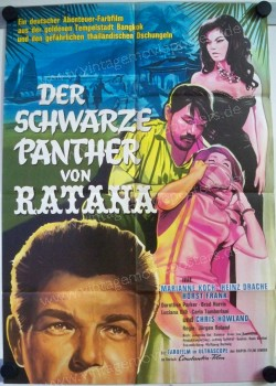 Black Panther of Ratana, The (Schwarze Panther von Ratana, Der)