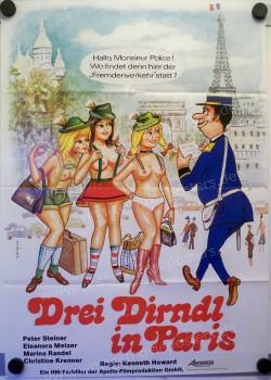 Drei Dirndl In Paris