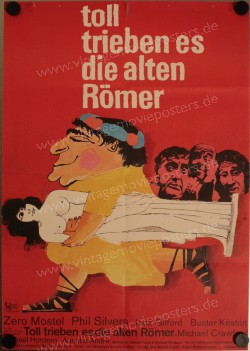Toll trieben es die alten Römer (Funny Thing Happened on the Way to the Forum, A)