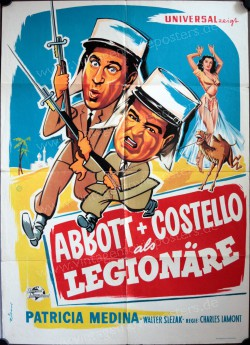 Abbott und Costello als Legionäre (Abbott and Costello in the Foreign Legion)