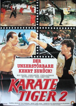 Karate Tiger 2 (No Retreat, No Surrender 2: Raging Thunder)
