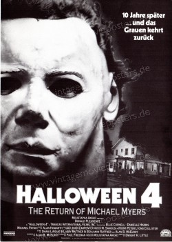 Halloween 4: The Return of Michael Myers (Halloween 4: The Return of Michael Myers)