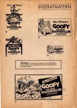 Goofy und seine Spießgesellen (Walt Disney - Goofy Adventures Story (German Shorts Program 1967))