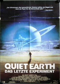 Quiet Earth - Das letzte Experiment (Quiet Earth, The)