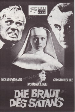 Braut des Satans, Die (To the Devil a Daughter)